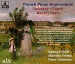 French Piano Impressions: Debussy – Fauré – Ravel – Satie <span>-</span> Stott, Kathryn** - piano | Tirimo, Martino* - piano | Dickinson, Peter*** - piano