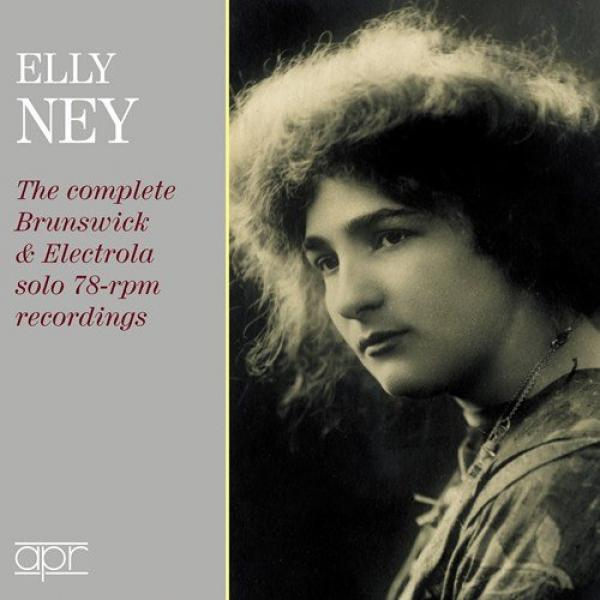 Elly Ney - The complete Brunswick & Electrola solo 78-rpm recordings <span>-</span> Ney, Elly (piano)