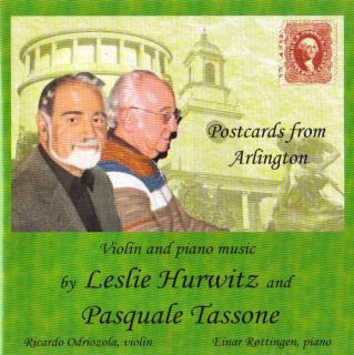 Postcards from Arlington - Hurwitz, Leslie / Tassone, Pasquale