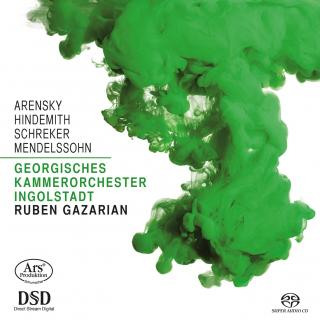 Works for String Orchestra - Georgisches Kammerorchester Ingolstadt | Gazarian, Ruben – conductor