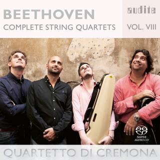 Beethoven, Ludwig van: The Complete String Quartets Vol. 8 - Quartetto di Cremona