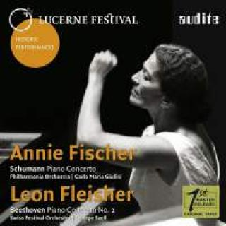 Lucerne Festival Historic Performances Vol. VIII - Piano Concertos by Schumann and Beethoven - Fischer, Annie / Fleischer, Leon