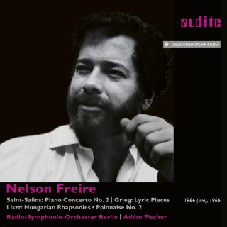 Nelson Freire plays Saint-Saëns, Grieg and Liszt - Freire, Nelson – piano