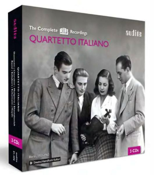 The Complete RIAS Recordings <span>-</span> Quartetto Italiano