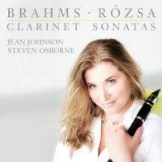 Brahms & Rózsa: Klarinettsonater - Johnson, Jean (klarinett)