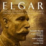 Elgar, Edward: Piano Quintet & Sea Pictures - orchestrated by Donald Fraser <span>-</span> Woods, Kenneth