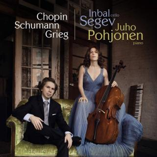 Chopin, Schumann & Grieg: Works for Cello & Piano - Segev, Inbal – cello | Pohjonen, Juho - piano