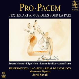 Pro Pacem / For Peace - Text, Art & Music for Peace - Hespèrion XXI / La Capella Reial de Catalunya / Savall, Jordi
