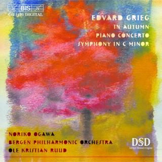 Grieg, Edvard: Piano Concerto - Bergen Philharmonic Orchestra / Ruud, Ole Kristian (conductor)
