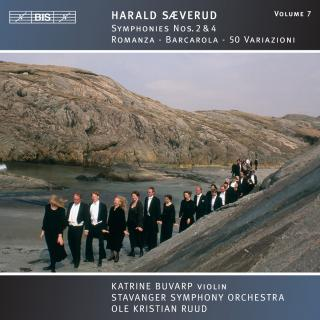 Sæverud, Harald: Symphonies Nos.2 & 4 - Stavanger Symphony Orchestra / Ruud, Ole Kristian (conductor)