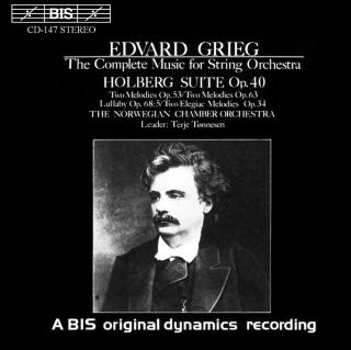 Grieg: The Complete Music for String Orchestra - Norwegian Chamber Orchestra / Tønnesen, Terje (conductor)