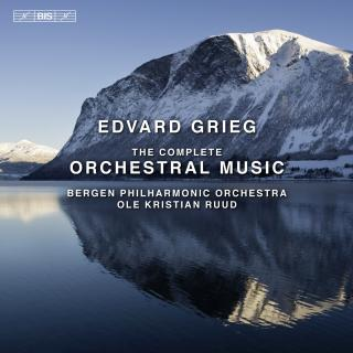 Grieg, Edvard: The Complete Orchestral Music - Bergen Philharmonic Orchestra / Ruud, Ole Kristian (conductor)