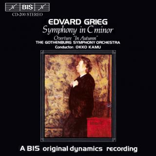 Grieg, Edvard: Symphony in C minor