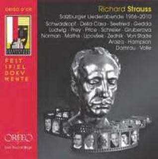 Strauss, Richard: Salzburg Lieder Evenings 1956-2010 - Diverse