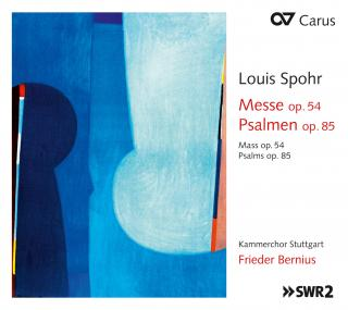 Spohr, Louis: Mass Op. 54 & Psalms Op. 85, Nos. 1-3 - Bernius, Frieder