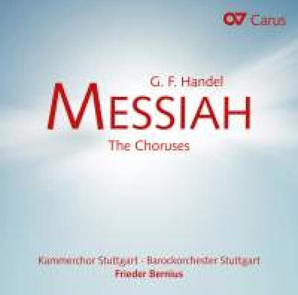 Handel, George Frideric: Messiah - Korene <span>-</span> Bernius, Frieder