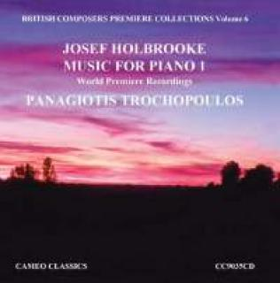 British Composers Premiere Collections Vol. 6 - Trochpoulos, Panagotis (klaver)