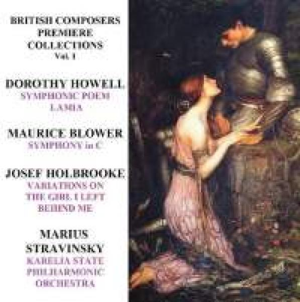 Bower, Holbrooke & Howell: British Composers Premiere Collections Vol. 1 <span>-</span> Stravinsky, Marius