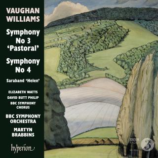 Vaughan Williams: Symphonies Nos. 3 & 4 - BBC Symphony Orchestra / Brabbins, Martyn