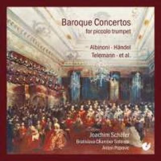 Baroque Concertos for piccolo trumpet - Schäfer, Joachim