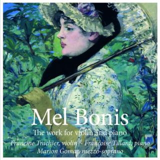 Bonis, Mel: The works for violin and piano - Trachier, Francine - violin