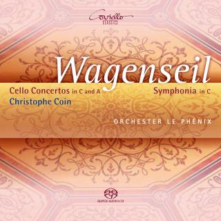 Wagenseil, Georg Christoph: Cellokonserter & Symphonia - Orchester Le Phenix