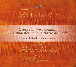 Telemann, Georg Philipp: Fantasias (12) for viola da gamba - Fritzsch, Thomas