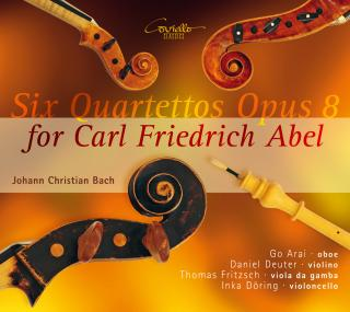 Bach, Johann Christian: Six Quartettos Op. 8 for Carl Friedrich Abel - Arai, Go – oboe