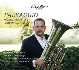 Paesaggio – Works for Tuba and Orchestra - Jung, Siegfried – tuba