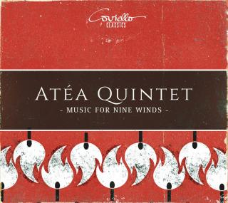 Alwyn, William & Mozart, Wolfgang Amadeus: Music for Nine Winds - Atea Quintet ... and friends