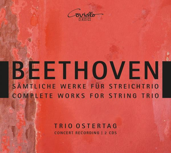 Beethoven, Ludwig van: Complete Works for String Trio <span>-</span> Trio Ostertag
