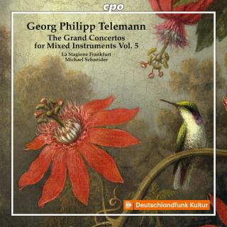 Telemann, Georg Philipp: The Grand Concertos for mixed instruments Vol. 5 - La Stagione Frankfurt | Schneider, Michael