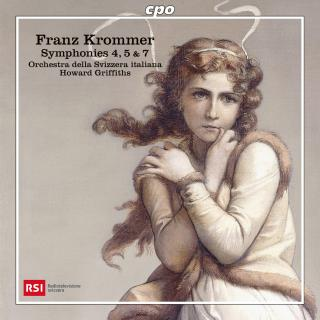 Krommer, Franz: Symphonies 4, 5 & 7 - Orchestra della Svizzera italiana | Griffiths, Howard
