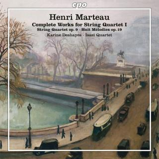 Marteau, Henri: The Complete Works for String Quartet Vol. 1 - IIsasi Quartet | Deshayes, Karine - soprano