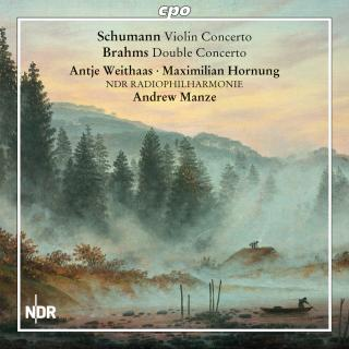 Schumann, Robert: Violin Concerto / Brahms, Johannes: Concerto for Violin & Cello - Weithaas, Antje (violin) / Hornung, Maximillian (cello)