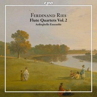 Ries, Ferdinand: Complete Chamber Music for Flute & String Trio Vol. 2 - Ardinghello Ensemble