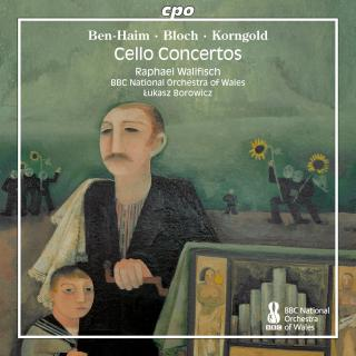 Ben-Haim / Bloch / Korngold: Cello Concertos - Wallfisch, Raphael (cello)