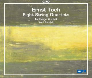 Toch, Ernst: The String Quartets - Buchberger Quartett / Verdi Quartett*