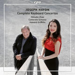 Haydn: The Complete Keyboard Concertos - Zhao, Mélodie (piano) / Nebel, David (violin) / Camerata Schweiz / Griffiths, Howard