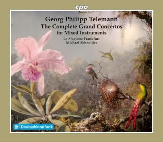 Telemann: The Grand Concertos for Mixed Instruments, Complete - La Stagione Frankfurt / Schneider, Michael