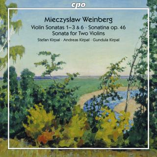 Weinberg, Mieczyslaw: Works for Violin & Piano Vol. 2 - Kirpal, Stefan