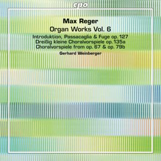 Reger, Max: Organ Works Vol. 6 - Weinberger, Gerhard