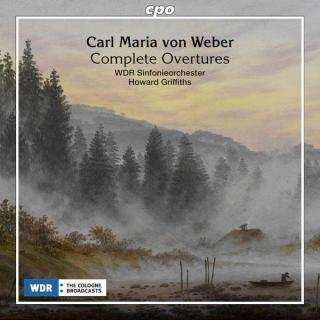 Weber, Carl Maria von: Ouverturer, komplett - Griffiths, Howard