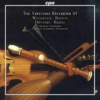 Virtuoso Recorder Vol. 3 (Concertos of the English Baroque) - Schneider, Michael