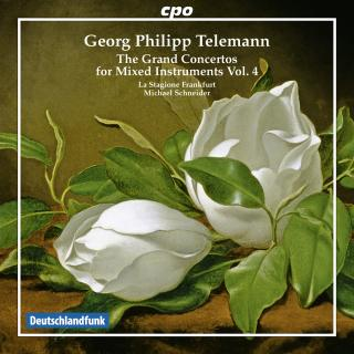 Telemann, Georg Philipp: The Grand Concertos for mixed instruments - 4: - La Stagione Frankfurt | Schneider, Michael