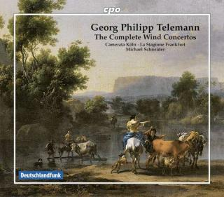 Telemann, Georg Philipp: The Complete Wind Concertos - Schneider, Michael