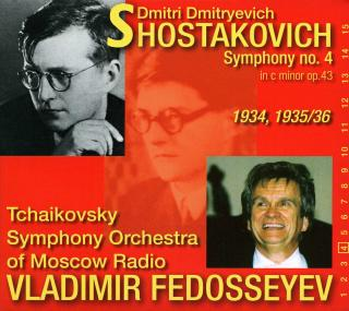 Shostakovich, Dmitri: Symphony No. 4 in c minor op. 43 - Fedosseyev, Vladimir – conductor | Tchaikovsky Symphony Orchestra of Moscow Radio