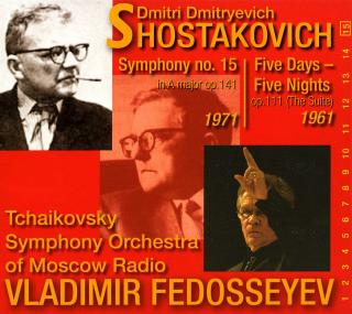 Shostakovich, Dmitri: Symphony No. 15 in A major op. 141 - Fedosseyev, Vladimir – conductor | Tchaikovsky Symphony Orchestra of Moscow Radio
