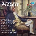 Mozart, Wolfgang Amadeus: Piano Sonatas 8, 12, 13 & 14 <span>-</span> Black, Virginia (piano)