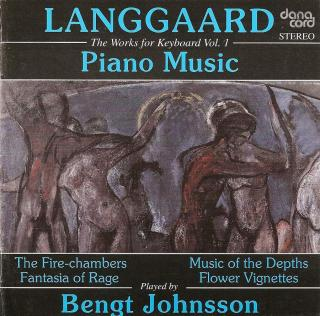 Langgaard, Rued: Piano Music Vol. 1 - Johnsson, Bengt - piano